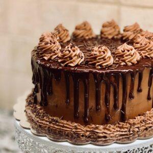 Torta de Bizcocho para Diabeticos
