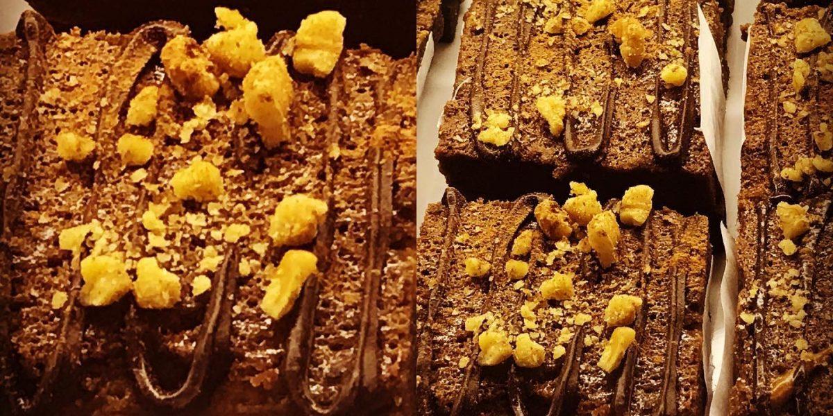 brownie de chocolate nuez